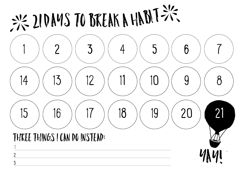 21-Days-To-Make-A-Habit