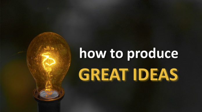 How To Think Great Ideas
