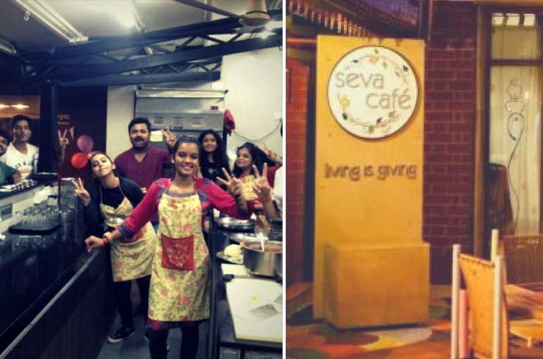 Living Is Giving Here At Seva Cafe, Ahmedabad