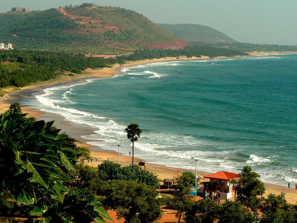 Rushikonda Seaside, Andhra Pradesh