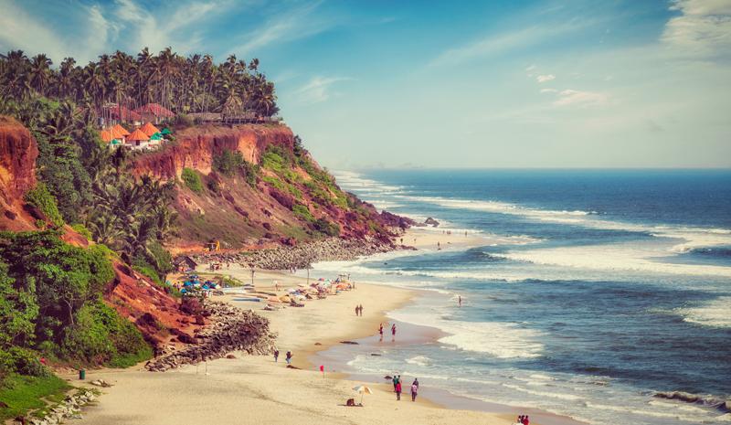 Kerala Beaches- VarkalaBeach