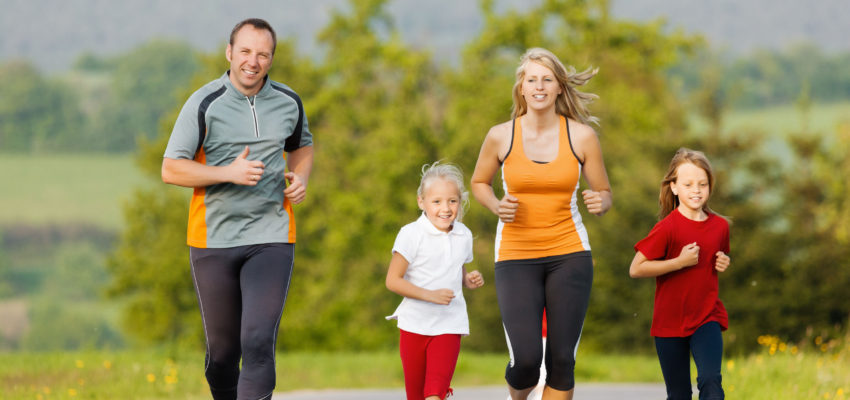 exercise together with family
